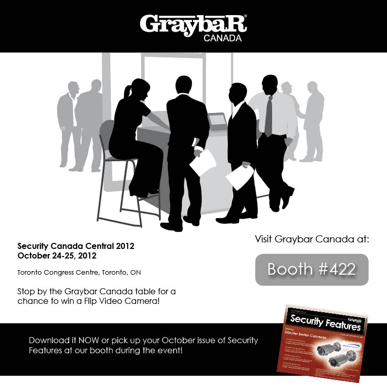 Graybar Canada - Visit us at Security Canada Central - Booth #422