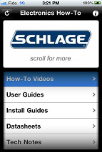Schlage - Electronics How-To