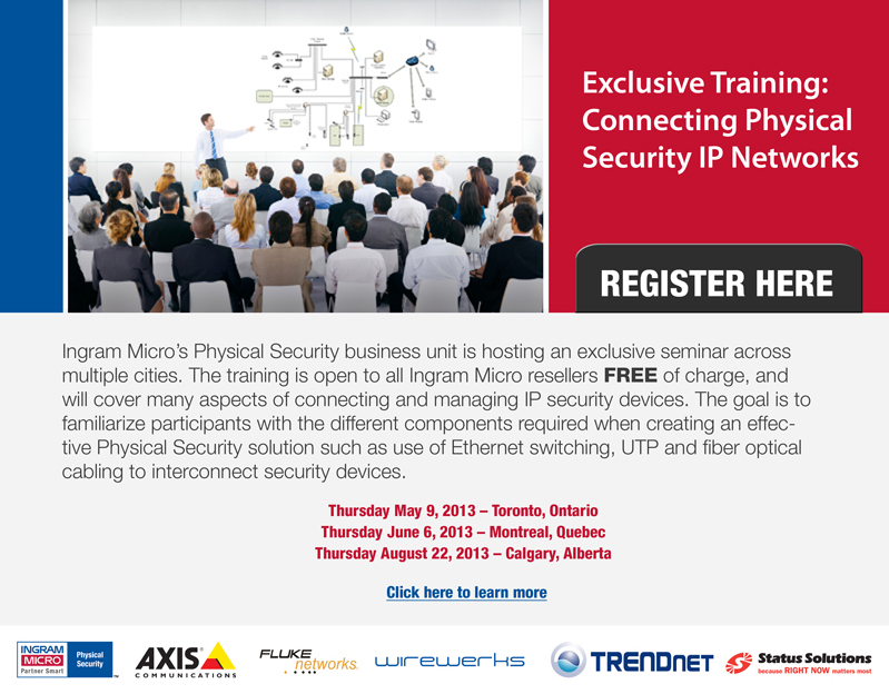 Exclusive Training: Connecting Physical Security IP Networks