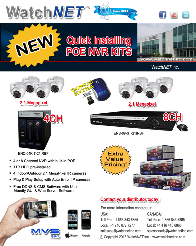 Affordable HD Video Recording Solutions from WatchNET