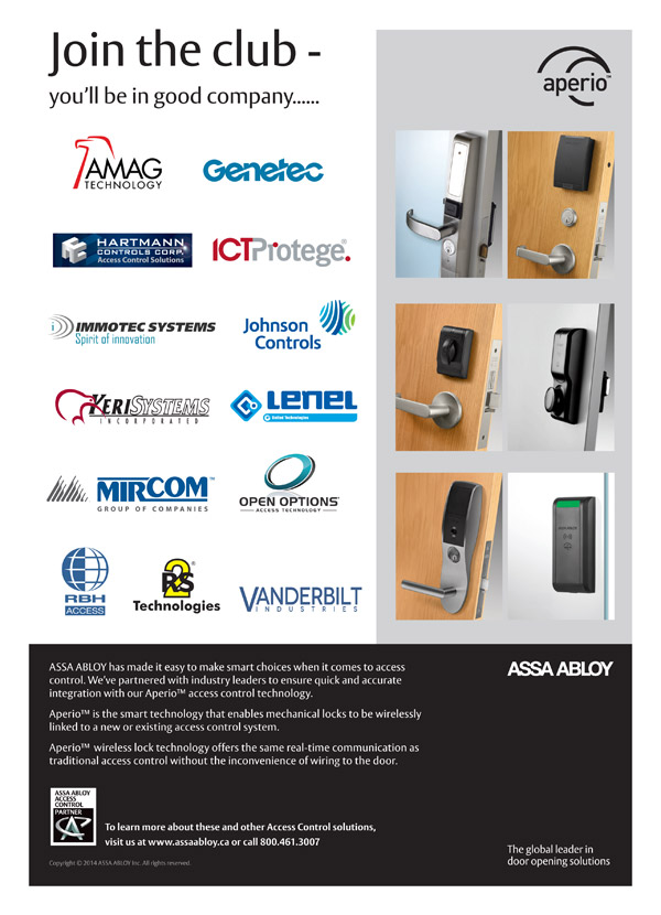 ASSA ABLOY Aperio Wireless Technology � Join the Club!