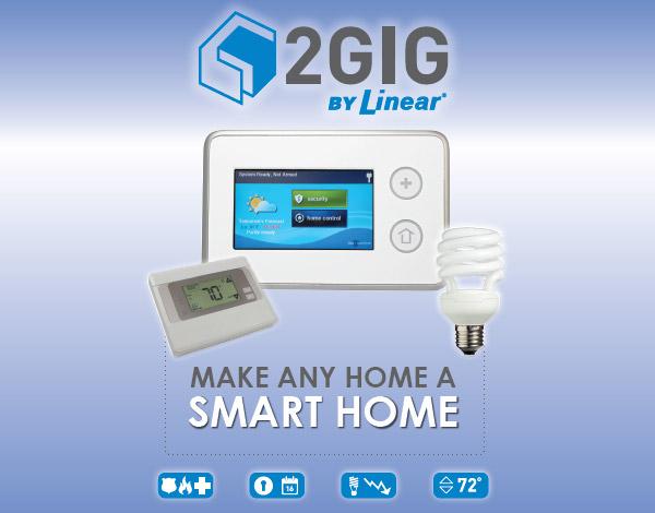 2 GIG by Linear. Make any home a smart home.