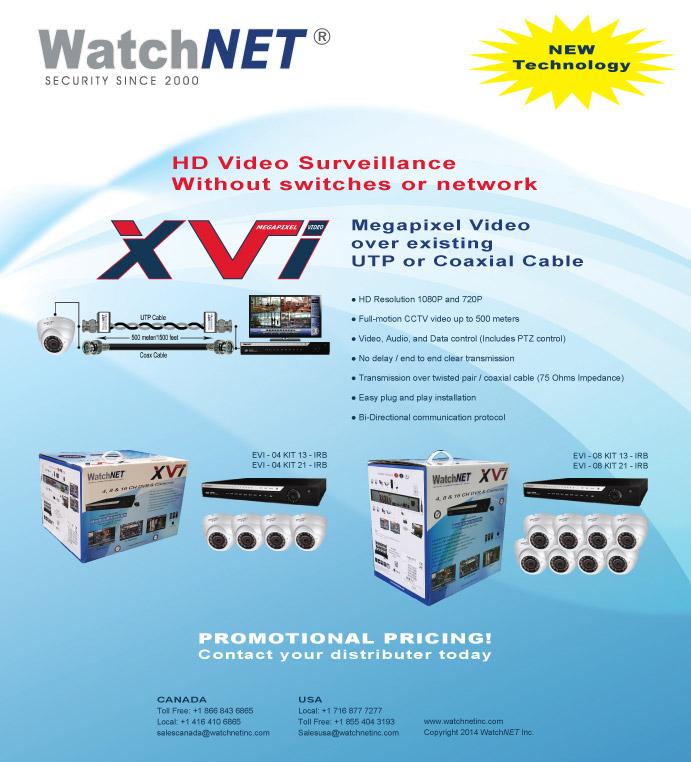 WatchNET's New XVI Technology. HD Video Surveillance