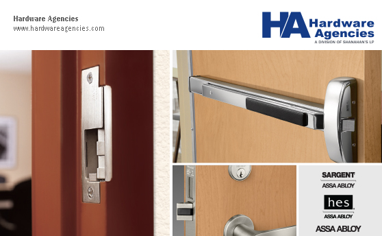 Hardware Agencies: Your One-Stop-Shop for HES Strikes & SARGENT Exit Devices.