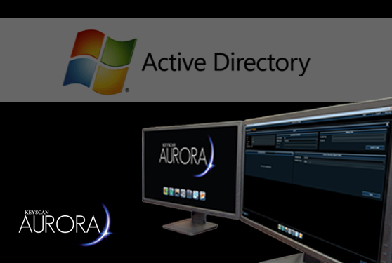 Active Directory integration with Keyscan Aurora Version1.0.10.