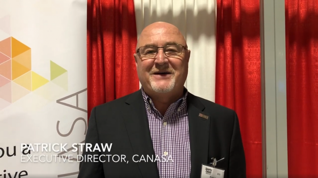 Security Canada Central 2019: Patrick Straw, CANASA [VIDEO]