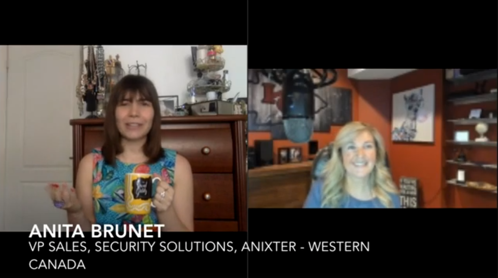 Security Coffee Break: Anita Brunet, Anixter [VIDEO]
