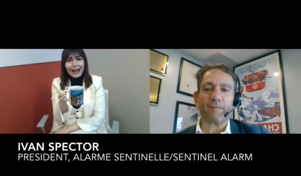 Security Coffee Break: Ivan Spector, Alarme Sentinelle [VIDEO]