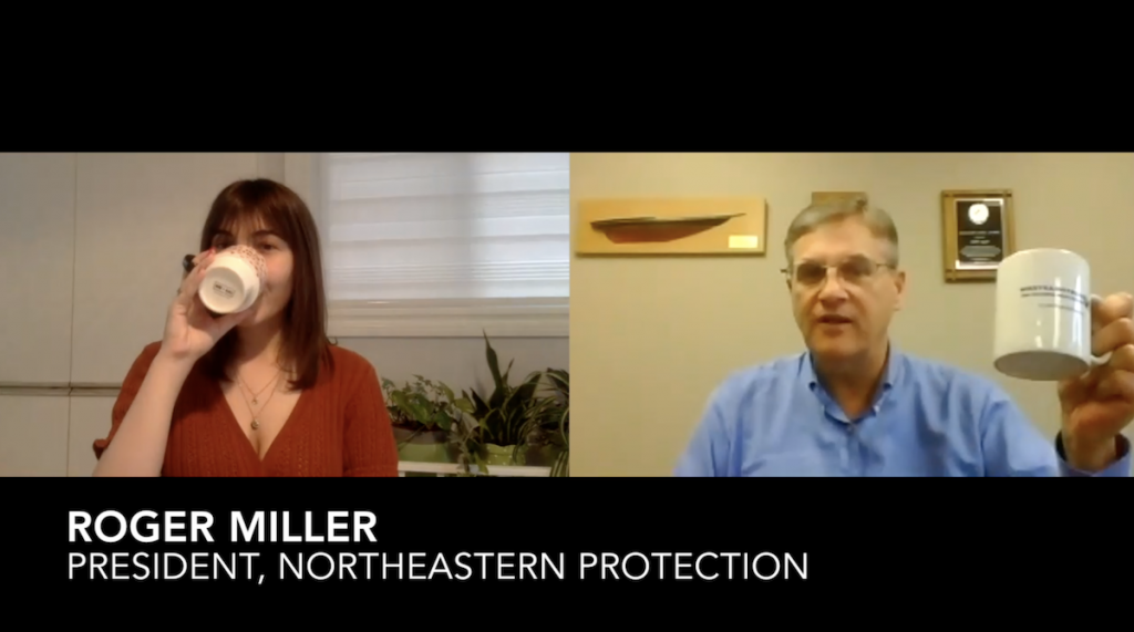 Security Coffee Break: Roger Miller, Northeastern Protection Service [VIDEO]